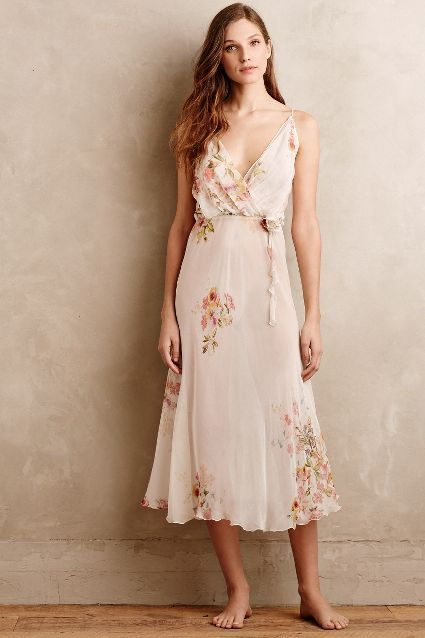 Flora Nikrooz Peachblossom Gown - anthropologie.com #anthrofave