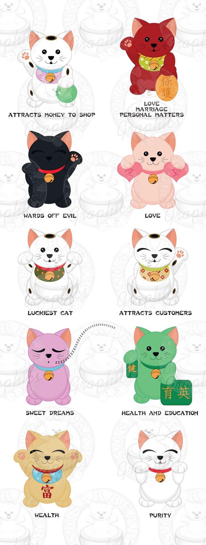 Many Lucky Cats