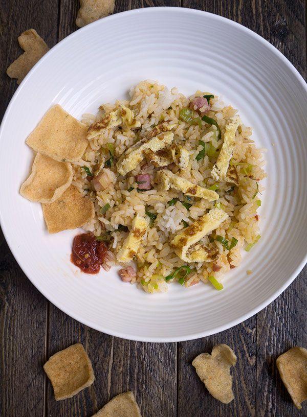 Mijn recept voor nasi goreng - Great Little Kitchen. Het door mij meest gegeten gerecht in Indonesië! #nasi #nasigoreng #recept