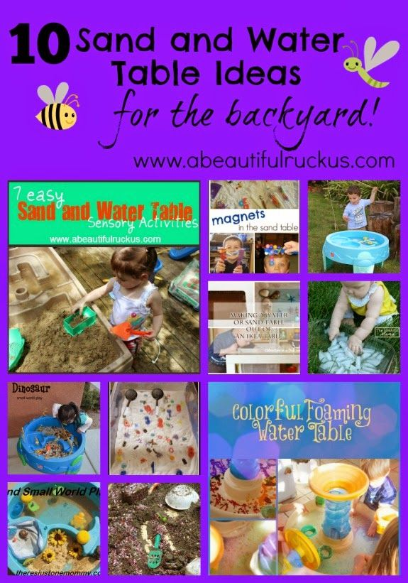 a beautiful ruckus 10 sand and water table ideas for the backyard 1500 cash