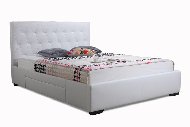 The Abbey Bed with Storage Drawers is made with quality materials to give you quality results. The drawers are built on strong metal runners...