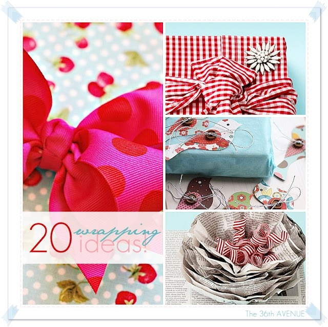 25 Handmade Gifts Under $5 | The 36th AVENUE36Th Avenue, Gift Wrapping, Gift Ideas, 20 Wraps, Gift Wraps, Ideas The36Thavenue Com, Wrapping Ideas, Handmade Gift, Wraps Ideas