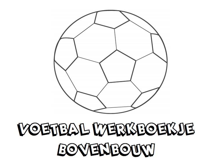 Voetbal werkboekje voor de bovenbouw