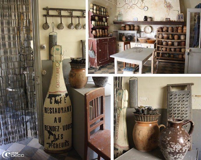 17 meilleures id es propos de rideaux de porte sur pinterest rideaux de porte d ntr e les for Deco cuisine ancienne