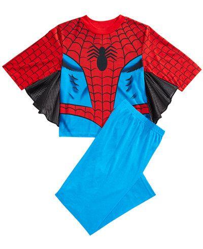 Marvel's� Spider-Man 2-Pc. Winged Pajama Set, Little Boys & Big Boys