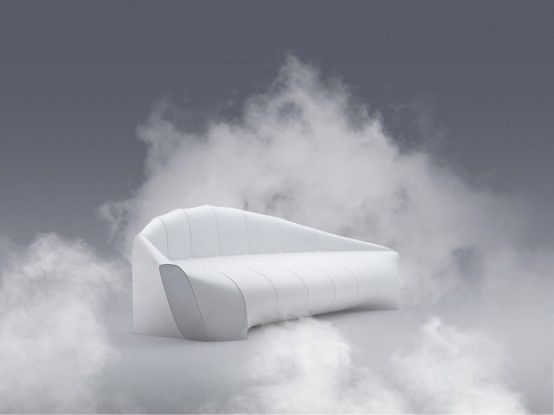 Furniture : Modern Stylish Sofa With Original Zeppelin Sofa Inspired By  Iconic Airships With Elegant White Amazing Pictures