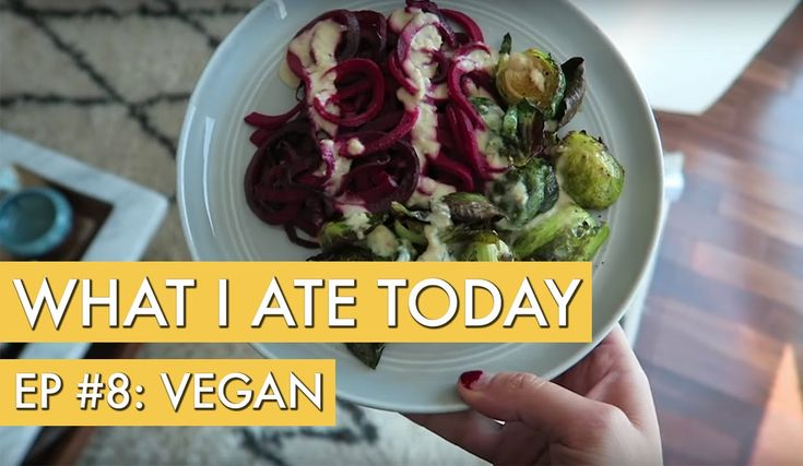 What I Ate Today, Episode 8 (Vegan!) - YouTube