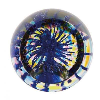 Caithness Glass Party Poppers Blue Paperweight New Boxed U11042