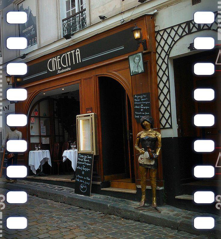 Restaurant Cine Citta Montpartre #Paris