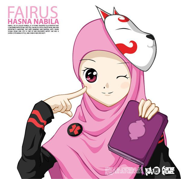 Gift - Fairus Hasna Nabila by ~554generation on deviantART
