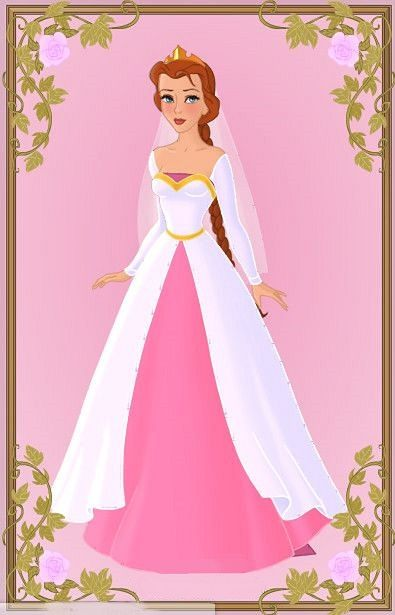 Fiona In Her Wedding Dress Just Before She Marries Lord Farquaad Made Using Azalea Dolls Amazing Heroine Creater Game Princess