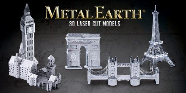 Steel Do-It-Yourself 3D Model Fascinations Kit Creation by Metal Earth – Metal Earth Models