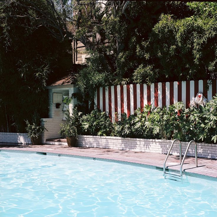 Chateau Marmont pool.