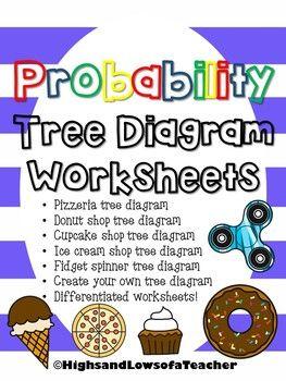probability tree diagram worksheets. Black Bedroom Furniture Sets. Home Design Ideas