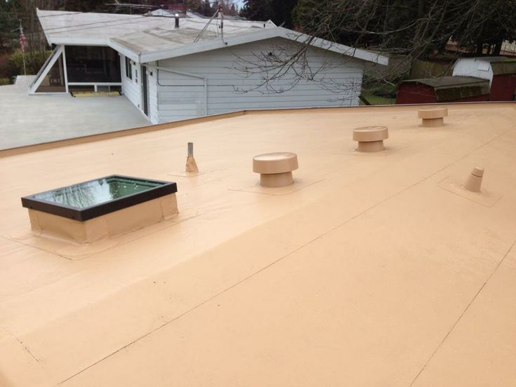 50 Mil PVC Membrane   IB Roof Systems   Shown In Tan