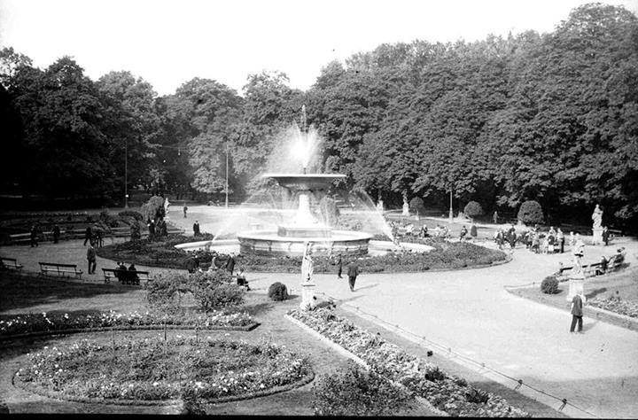 Saxon Garden, 1930s