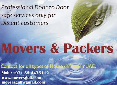 We are best cheap movers and packers in Uae.