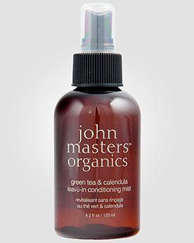 John Masters Organics Несмываемый спрей-кондиционер с экстрактами календулы и зеленого чая. 125 мл.
