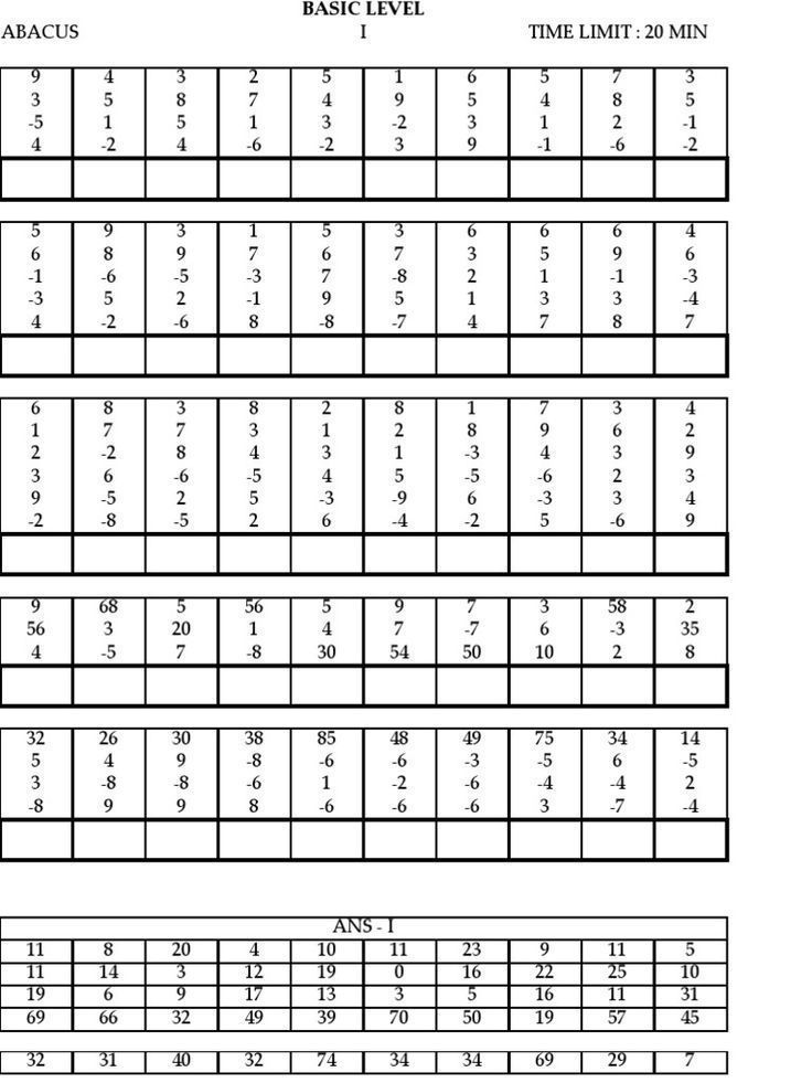 23 Abacus 2nd Level Worksheet Venubabu Kakumanu Kakumanuvenubabu On Pinterest Abacus Math Math Workbook Math Worksheets