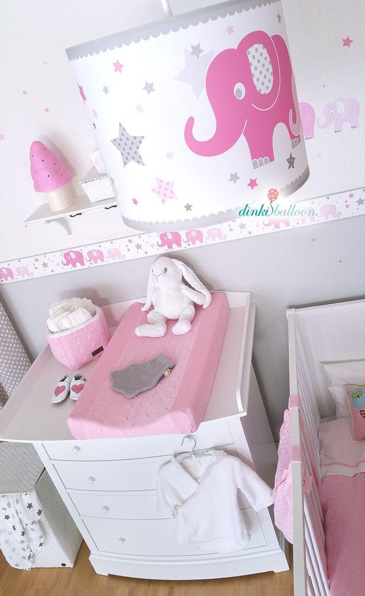 Girls Room In Pink And Gray A Classic Baby Room Furniture With Ele Classic Furniture Girls Pink Und Grau Kinderzimmer Fur Madchen Baby Zimmer Grau