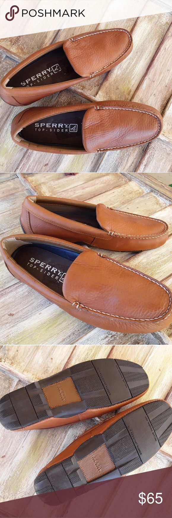Sperry Top Sider Mens Casual Shoes.  Size 11 M Sperry Top Sider Mens Casual Shoes; medium Camel Brown in color (Sahara); Size 11 M. Nice and lightweight casual shoes!!!! Sperry Shoes Loafers & Slip-Ons