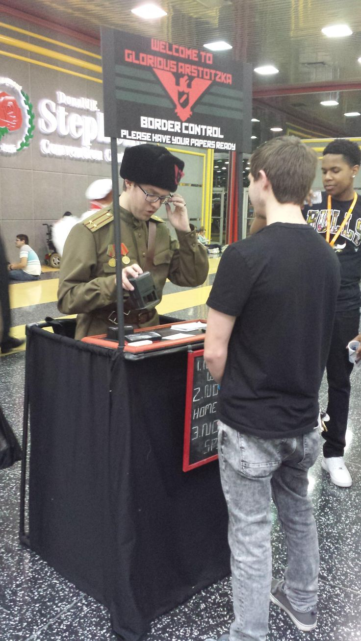 Papers Please Video Game Cosplay Cosplay Best Cosplay