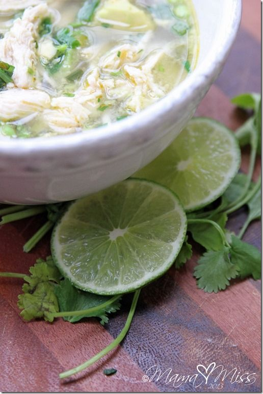 Chicken avocado soup! Omg delicious! Instead of boxes chicken broth I ...