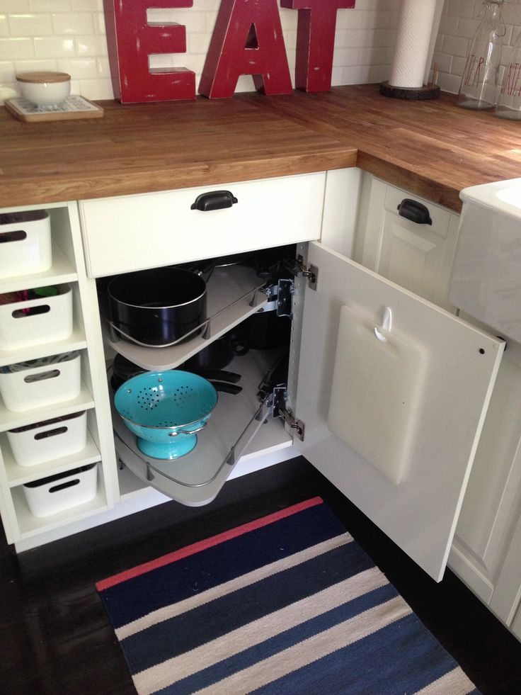 Ikea Carousel Cabinet Our Kitchen Remodel Pinterest