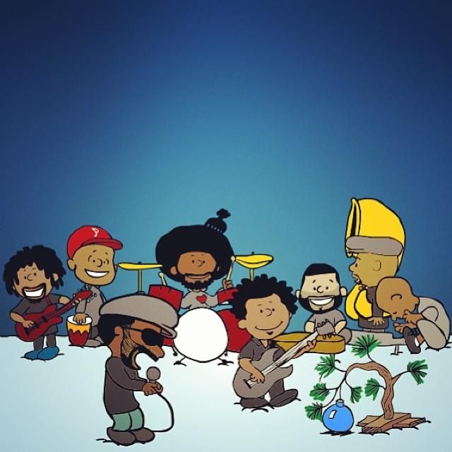 The Roots....Inspired by Charles M. Schulz. Oh my gosh, this is adorable!!! I love it!!