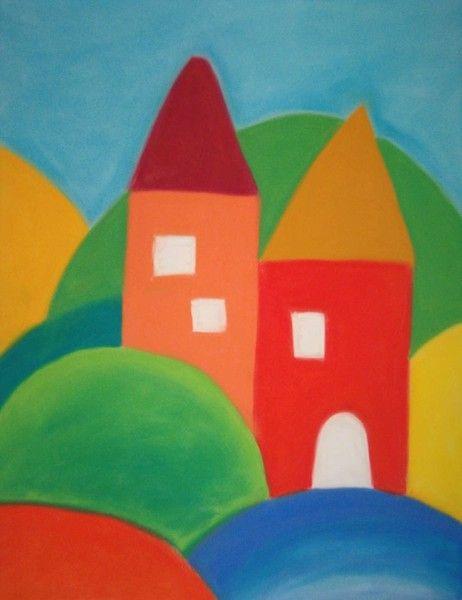 suchý pastel, 50x70cm