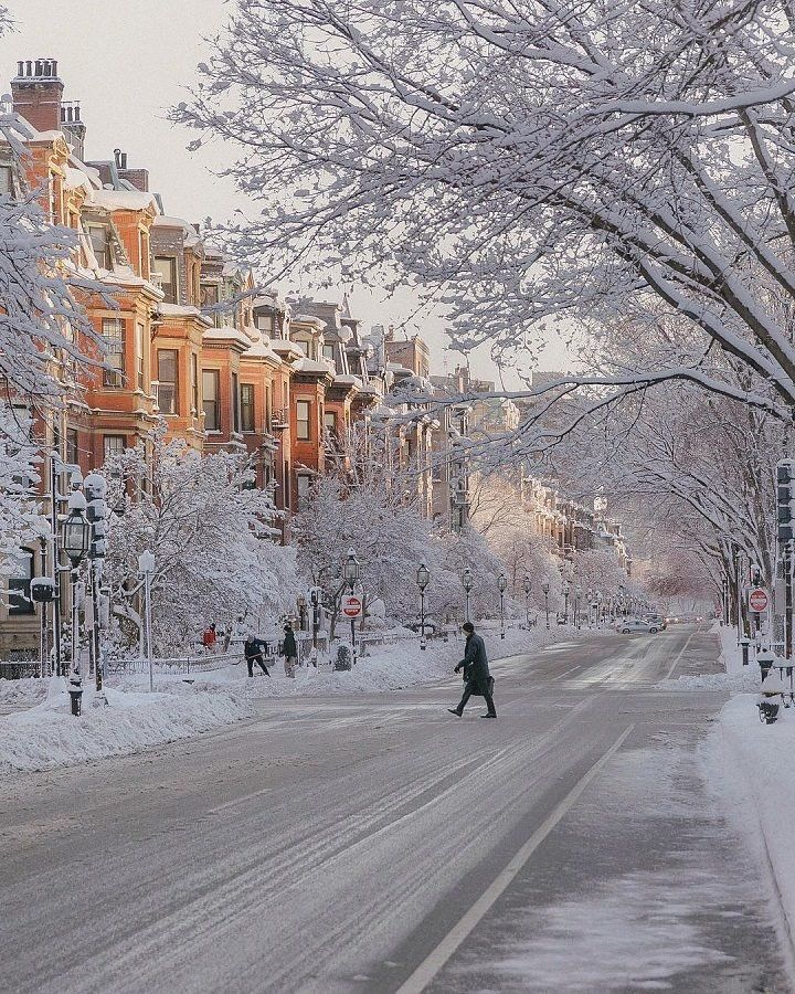 Gorgeous! Looks like Boston, one of my favorite cities in my ...