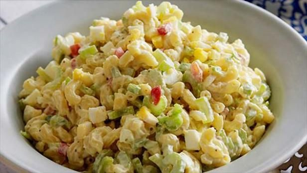 This Summer Macaroni Salad is so simple, anyone can make it.