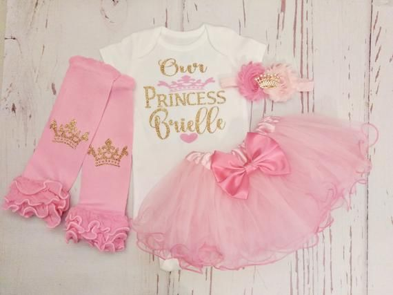 d8479a5b17db Baby Girl Coming Home Outfit