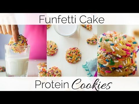 Funfetti Protein Cookies | Food Faith Fitness
