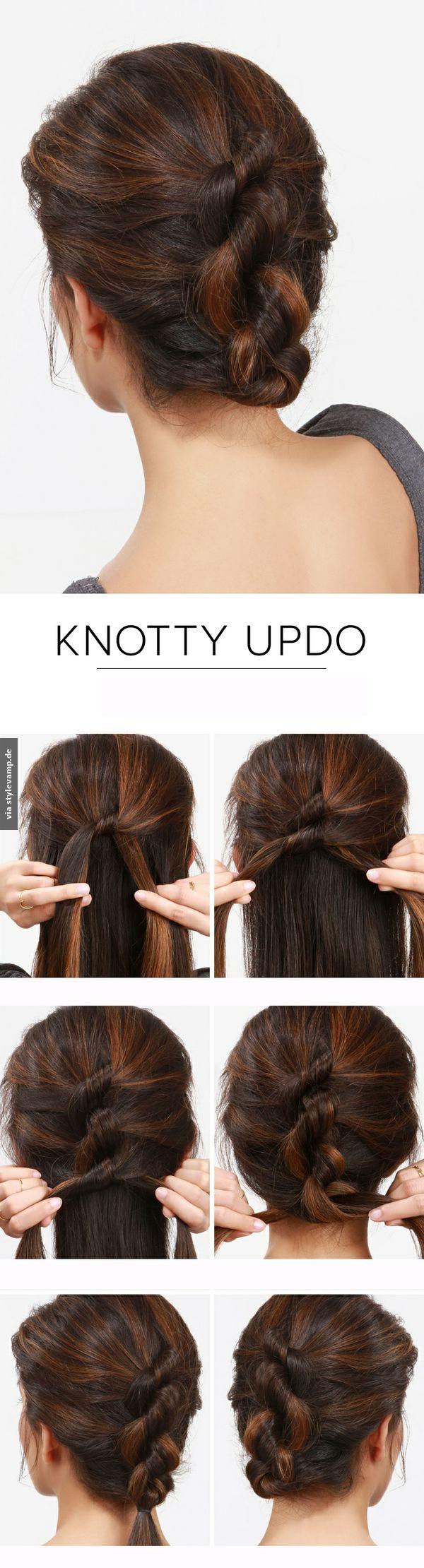 Knotty Updo
