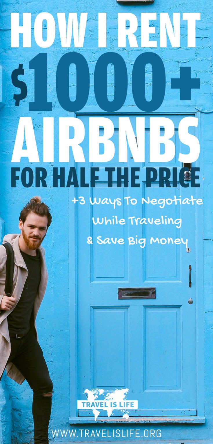 I love to negotiate. I believe that everything is negotiable. And since I travel full time, that's where most of my negotiations take place. Learn how I save $1000 Airbnbs for half price, plus three ways to negotiate while traveling & save big money. | Brought to you by TravelisLife.org
