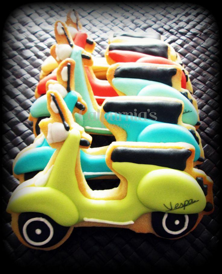 Vespa cookies