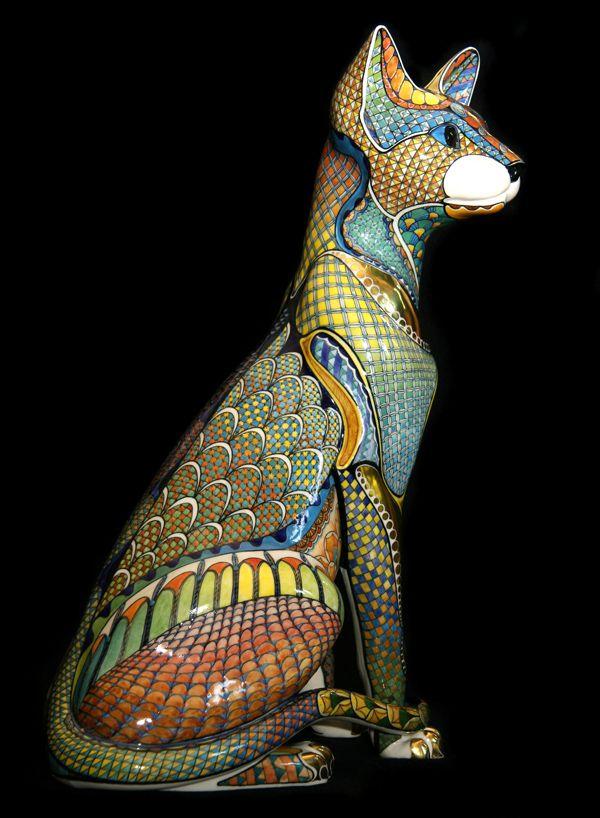 Дэвид Бернхэм Смит - Gallery 3 - Oriental Cat 1 - 36cm high