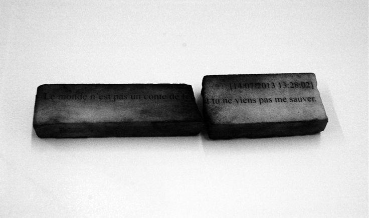 Filipa Cruz; Le monde n ́est pas un conte de fée et tu ne me viens pas sauver; 2014