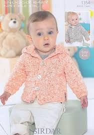 Sirdar 1354 Snuggly Baby Easy Knit