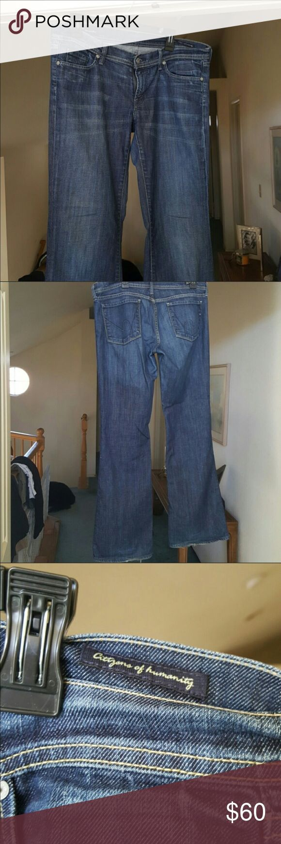 Citizen of Humanity Men's Jean - Like New! Great, soft pair of Citizen's jeans. Citizens of Humanity Jeans Straight Leg