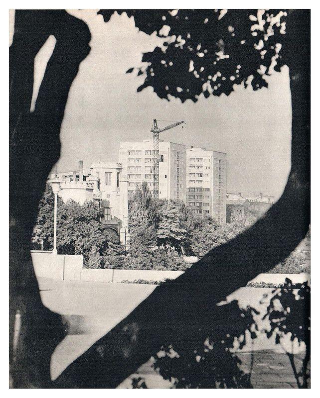 Одесса в 70-е годы XX века. Новостройки на Комсомольском бульваре