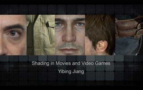 Hey guys, I'm uploading the power point of my latest talk - Shading in Movies and Video Games as request. Hope you guys like it!   Download it