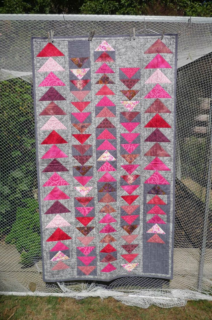 """Masses of """"geese"""" in pink. This one is heading overseas to an Aussie Heroine - I think, waiting to hear back from co-ordinator"""