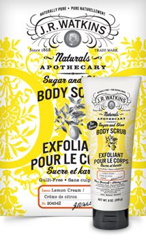 <><><> WHITELISTED!  100% CRUELTY FREE! <><><> J.R. Watkins - Sugar & Shea Body Scrubs: Lemon Cream