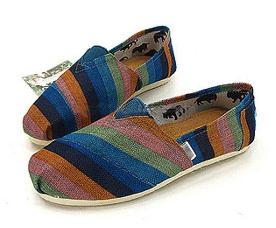 Men's Cheap Toms Rainbow Striped Shoes : toms outlet online,toms shoes sale, welcome to toms outlet,toms outlet online,toms shoes outlet,toms shoes sale$17
