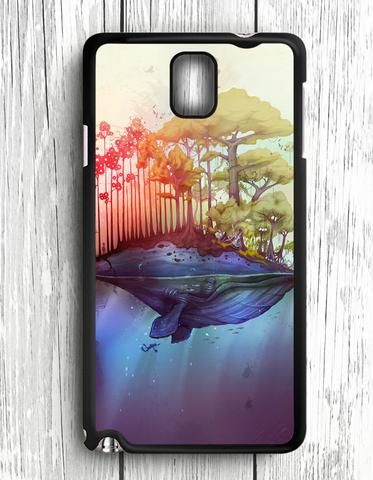 Whale Island Thiago Neumann Samsung Galaxy Note 3 Case
