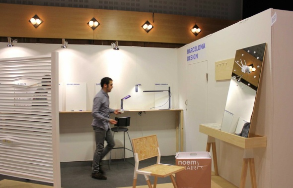 Stand at Stockholm Furniture Fair