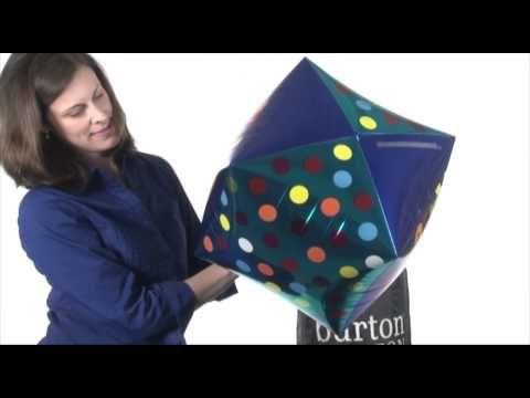 How to Inflate Cubez™ Balloons #burtonandburton