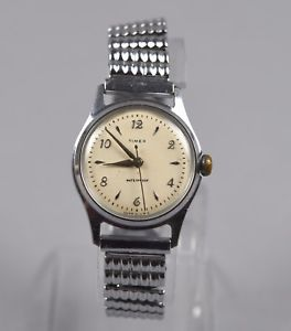 Vintage Timex Manual Wind Military Field Watch